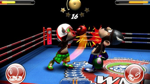 Android - Monkey Boxing