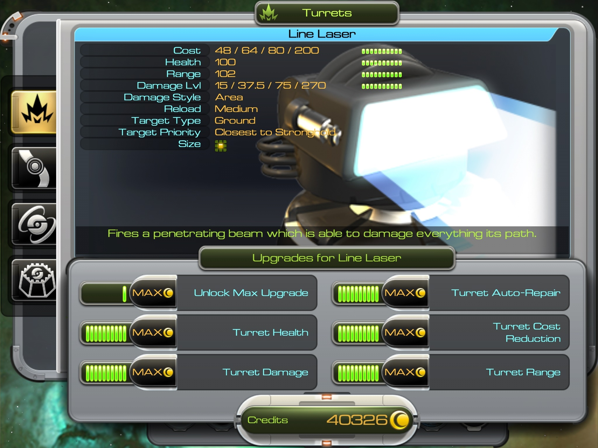 Sentinel 4, Android strategy, RTS