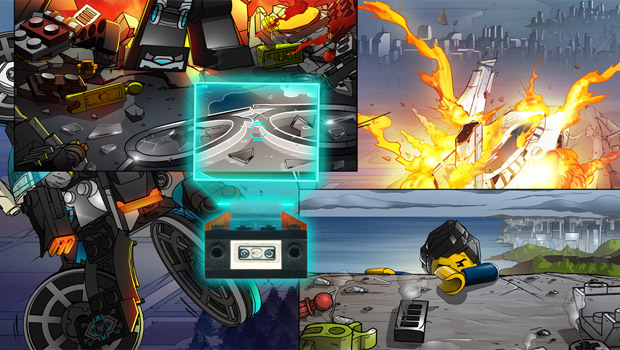 Android Interactive comic Lego ultra agents ft
