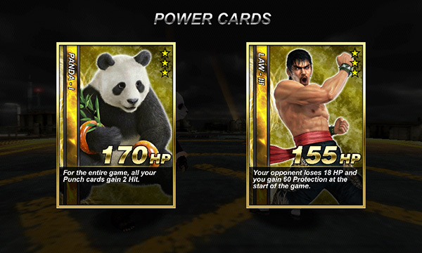 Tekken Card Game Android Panda Law Gold Cards