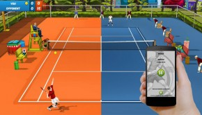 Android Motion Tennis Cast casting sim ftr