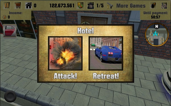 Crime Lord, action game