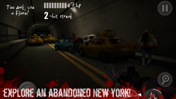 NY Zombies 2, Android FPS, zombie game
