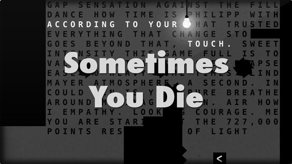Sometimes You Die   Good Android Games