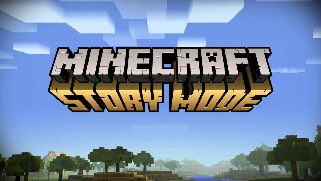 Minecraft: Story Mode title screen