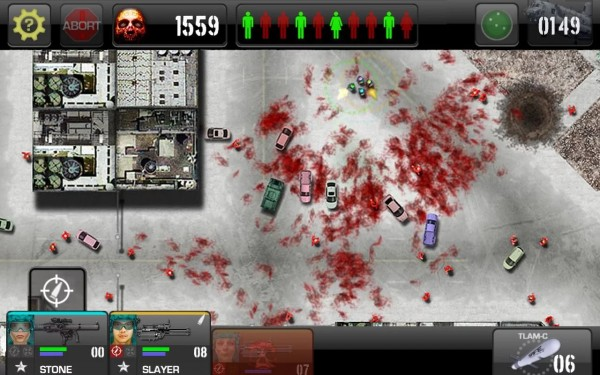 zombie games, War of the zombie, Android
