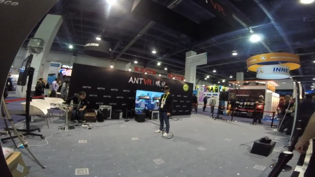 Ant VR Holodeck CES 2016