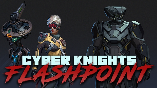 Cyber Knights Flashpoint marketing image
