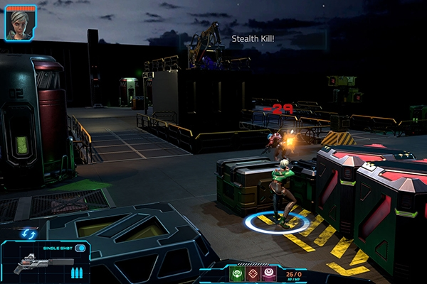 Cyber Knights Flashpoint game combat