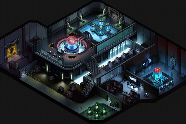 Cyber Knights Flashpoint game map