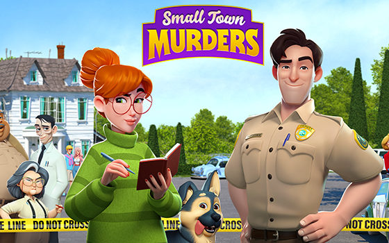 Small Town Murders title screen