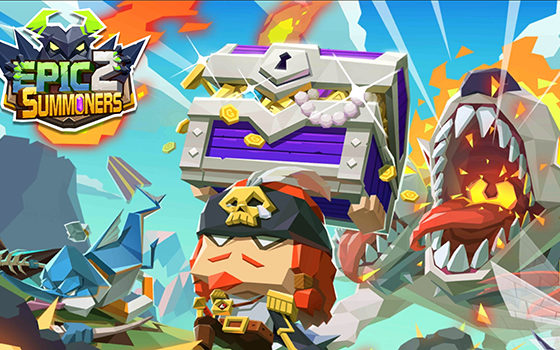 Epic Summoners 2 title screen