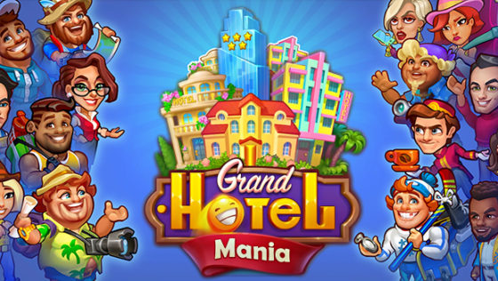 Android Grand Hotel Mania title screen