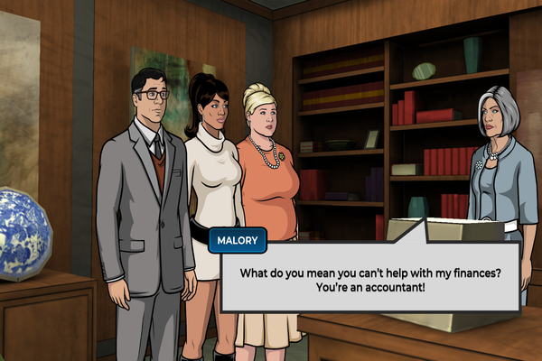 Android Archer: Danger Phone narrative