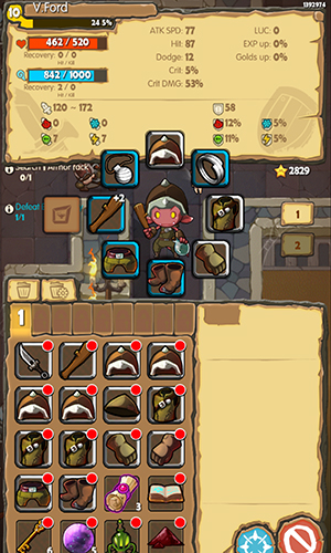 iMonster Classic inventory management