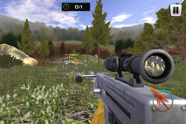 Levels consist of roughly one minute of firing at several dinosaurs from afar.