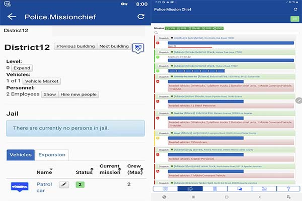 Police Mission Chief Android Simulation Strategy 3