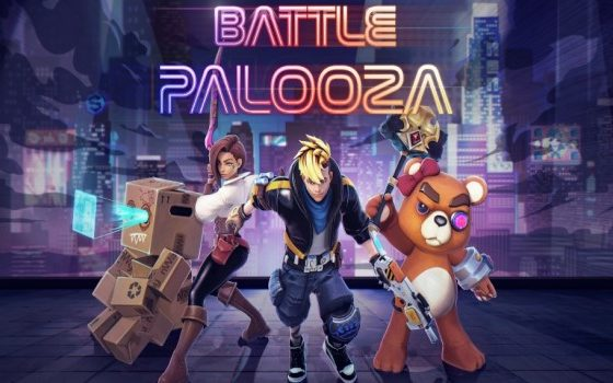 BattlePalooza Title Screen