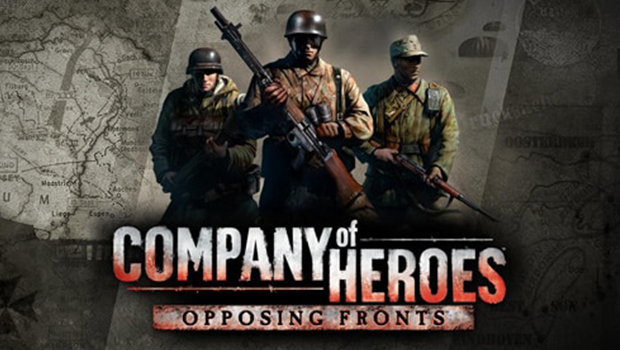 Company of Heroes: Opposing Fronts title screen