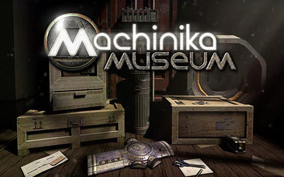 Machinika Museum title screen