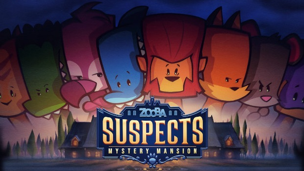 Mystery Mansion title screen