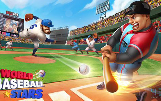 World Baseball Stars Android and ios 00