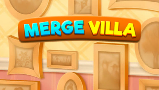 Merge Villa title screen