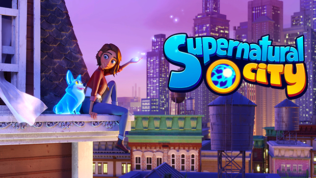 Supernatural City title screen