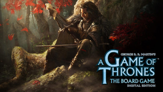 A Game of Thrones Board Game title