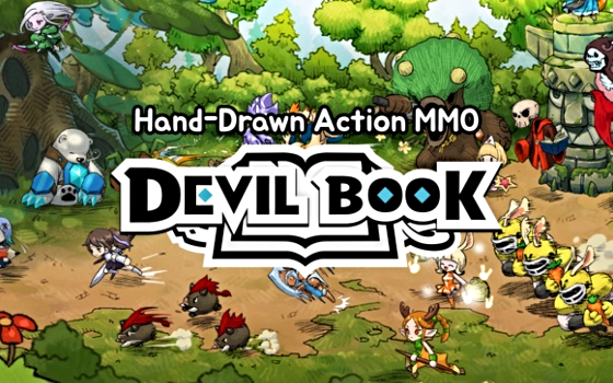 devil book title card