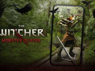 The Witcher: Monster Slayer's title card
