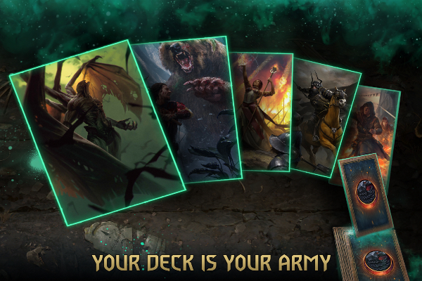 GWENT Price of Power Deck of Cards