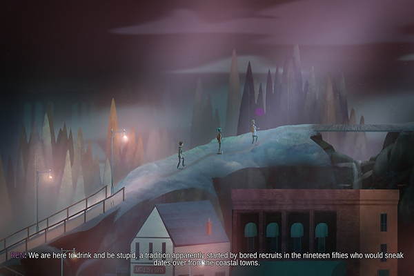 Oxenfree exposition