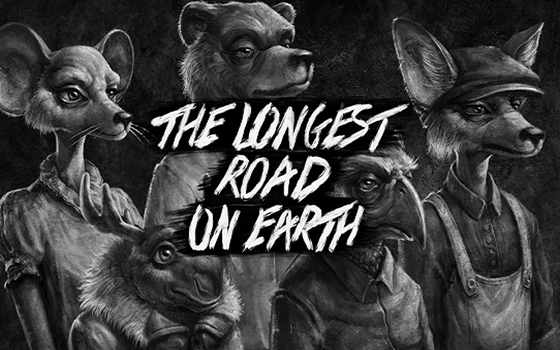 The Longest Road on Earth Title