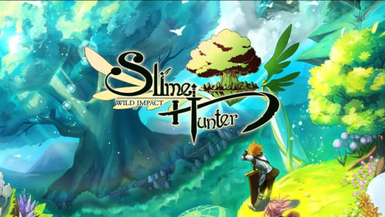 Slime Hunter Wild Impact Android title screen