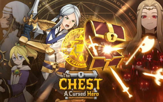 The Chest: A Cursed Hero title card