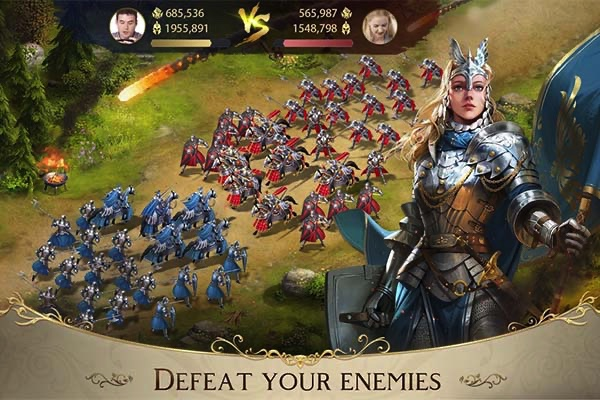 King's Choice soldier battles