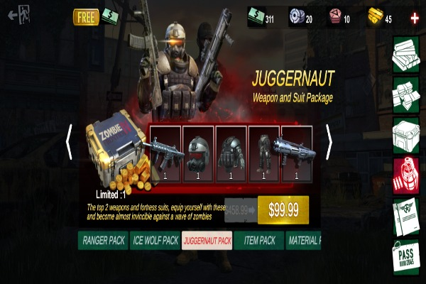 Zombie Frontier 4 Pack Offer