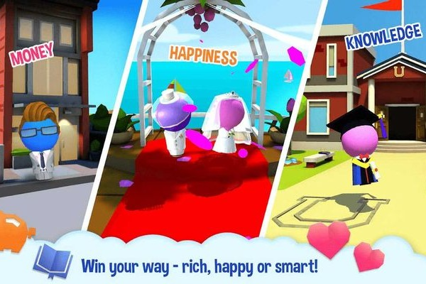 Win your way -- rich, happy or smart