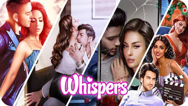 Whispers: Interactive Romance Stories Title Card