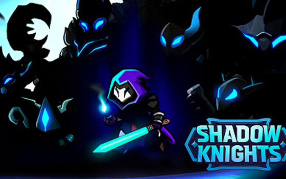 Shadow Knights title screen