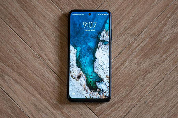 Android Poco M3 Display